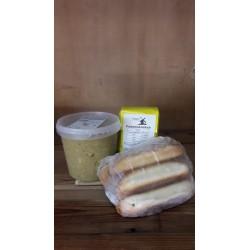 Erwtensoep-worstenbroodjes-pannenkoekmeel